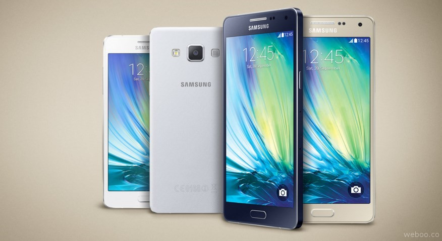 Samsung Galaxy A8 Duos SM A800YD Gold