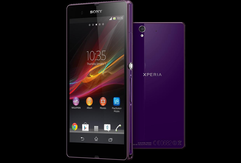 Sony Xperia Z Purple C6602 Xperia Z Purple