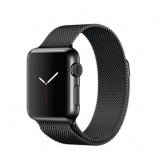 Apple Watch 38mm with Milanese Loop Black MMFK2