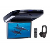 "Alpine PKG2100P 10.2"" Overhead Drop Down Screen with DVD Player"